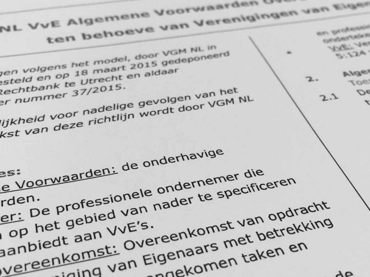 Modelreglementen van VvE's voorzien in een tweede vergadering