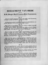 Modelreglement VvE